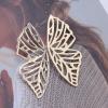 Boucle d'oreille papillon origami 1