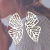 Boucle d'oreille papillon origami 2