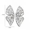 Boucle d'oreille papillon origami 3