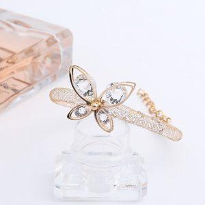 Bracelet femme avec papillon