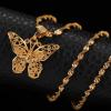 Collier avec pendentif papillon 1
