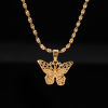 Collier avec pendentif papillon 3