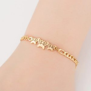 Bracelet papillon fille pour enfant