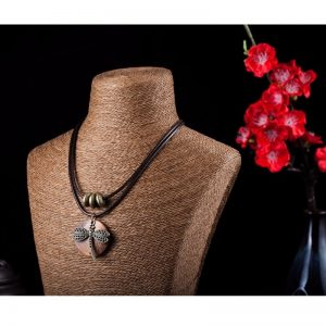 Collier pendentif libellule pour femme