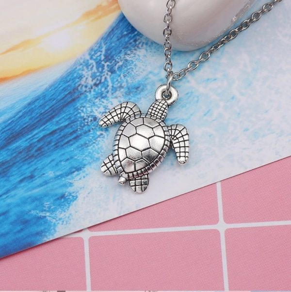 Collier tortue de mer couleur original