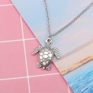 Pendentif tortue de mer, simple