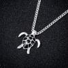 Pendentif tortue noire 2
