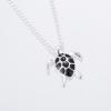 Pendentif tortue noire 4