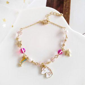 bracelet licorne pour petite fille
