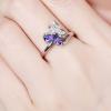Bague anneau papillon 1