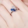 Bague anneau papillon