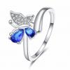 Bague anneau papillon 3