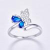 Bague anneau papillon 4