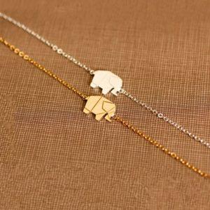 Bracelet éléphant femme