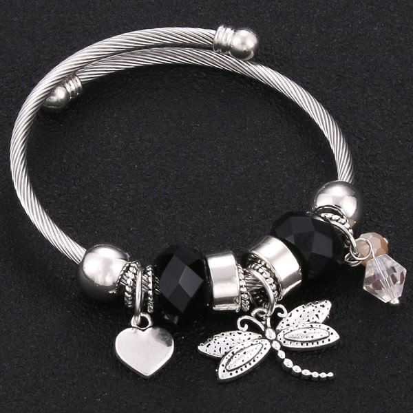 Bracelet avec libellule
