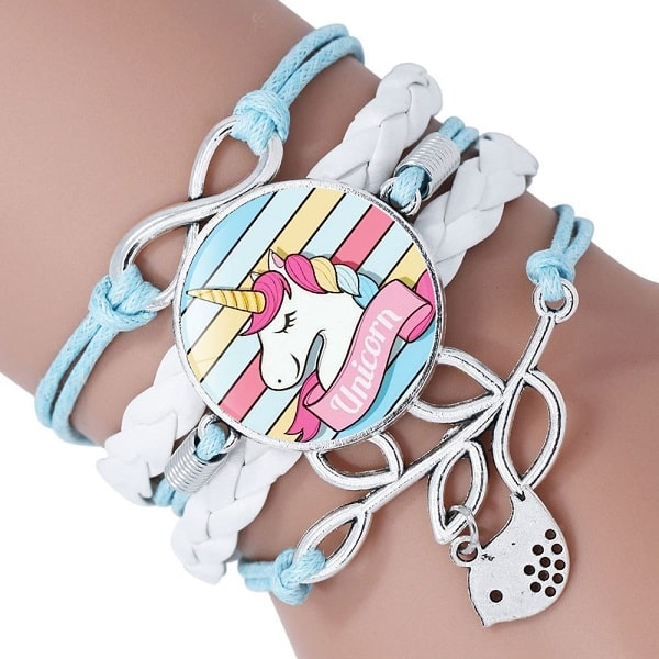 Bracelet licorne fille