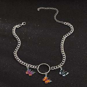 Papillon petit collier