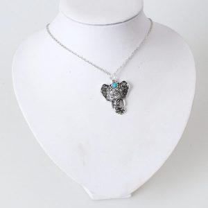 Pendentif éléphant afrique authentique
