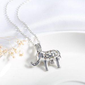 Pendentif éléphant lumineux