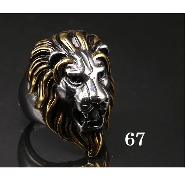 Tête de lion bague 67