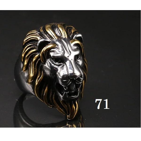 Tête de lion bague 71