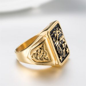 bague or chevaliere